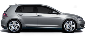 Autovermietung VW Golf 7